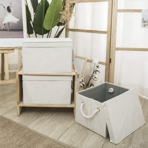 lidded storage cubes